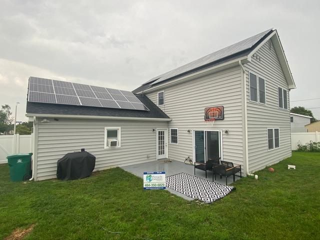 Yashan's solar installation done in Levittown, PA