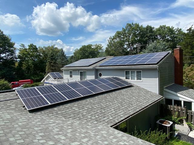 Vincent's solar installation done in Bangor