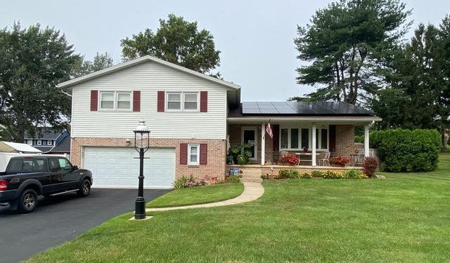 Charles's solar installation done in Reading, PA