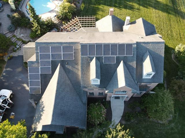 Chris's solar installation done in Orefield, PA