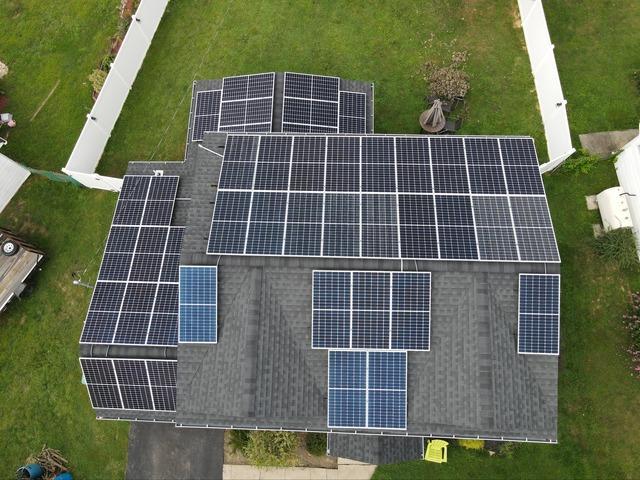 John's solar installation done in Levittown, PA