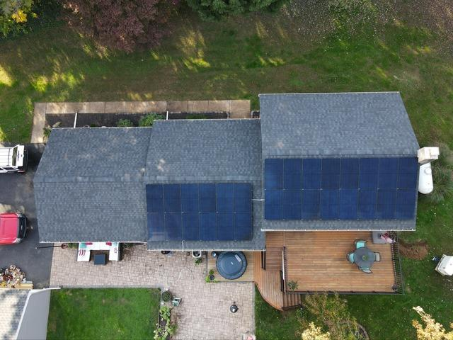 Ross's Solar Installation Done in New Park, Pa - After Photo