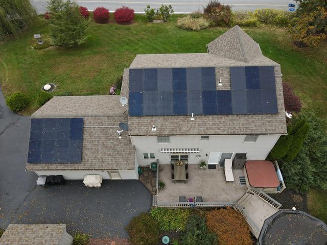 Bruce's solar installation done in Alburtis, PA