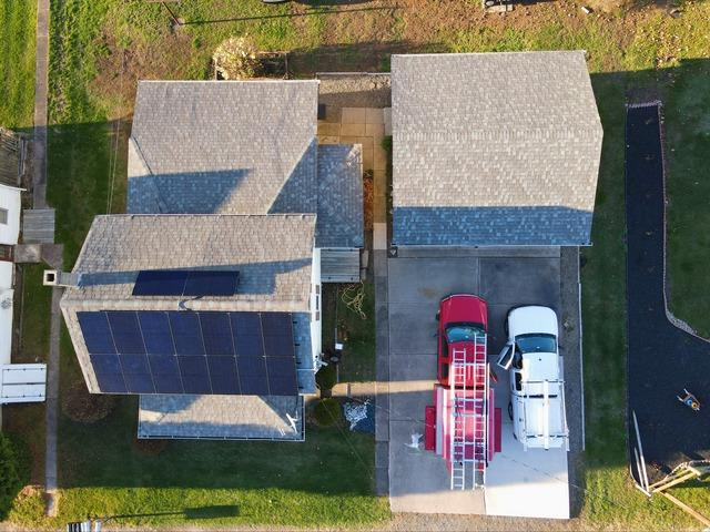 Terry's solar installation done in Bloomsburg, Pa