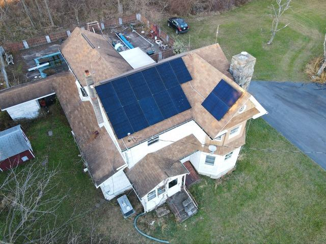 Joseph's Solar Installation Done in Wapwallopen, Pa