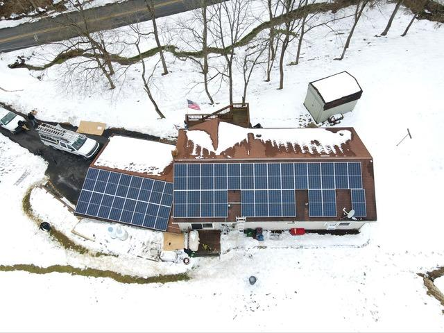 Brenda and Gary's Solar Installation Done in Kutztown, Pa