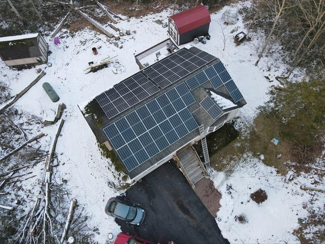 Martin and Christine's Solar Installation Done in Dingmans Ferry, Pa