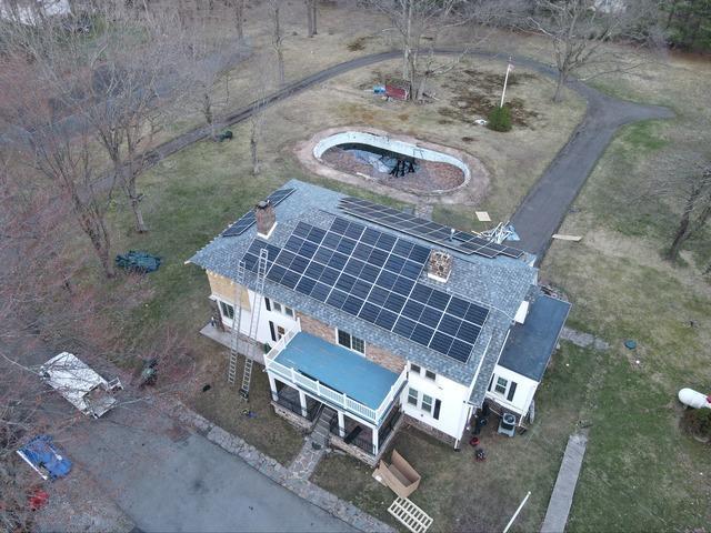 Kellyn's solar installation done in Mount Pocono, PA