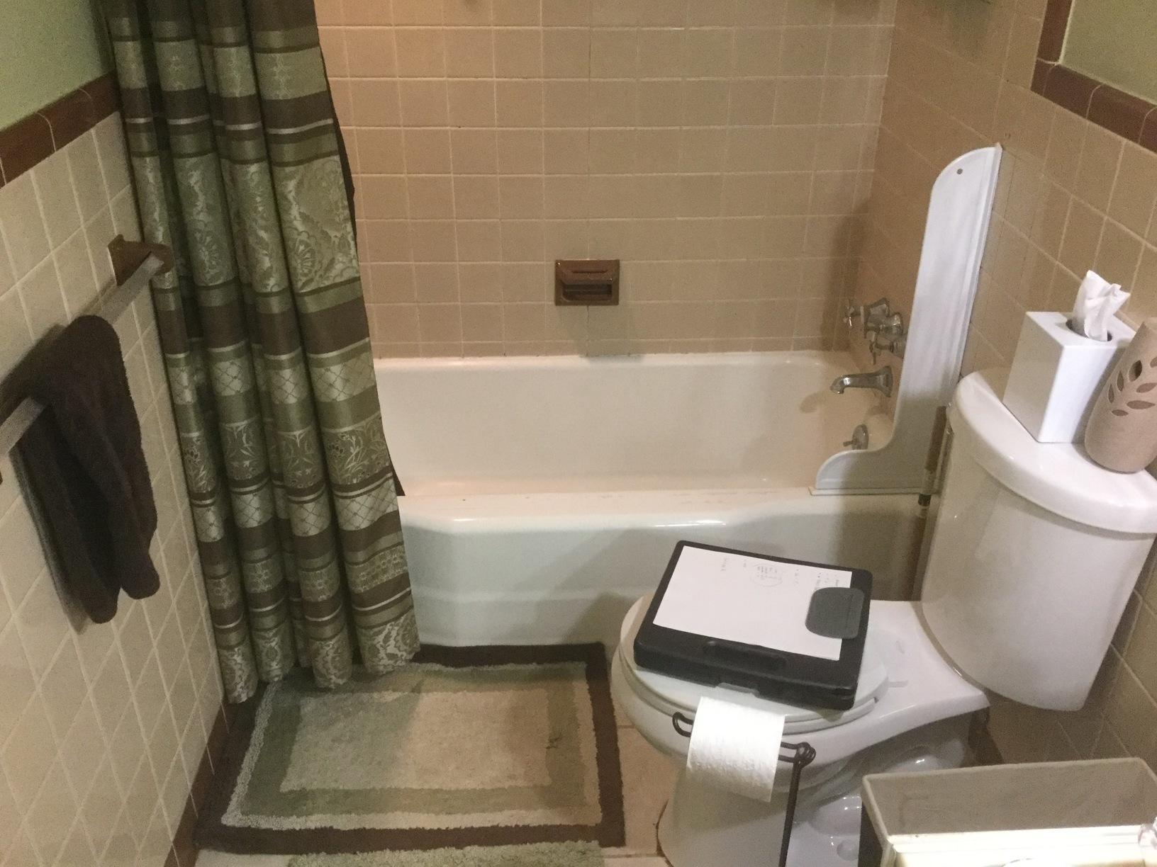 Bathroom Remodel in Toledo, Oh - Before Photo