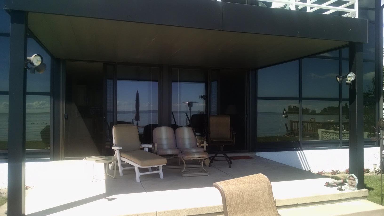 Sunroom Window Installation in Monroe, MI - Before Photo