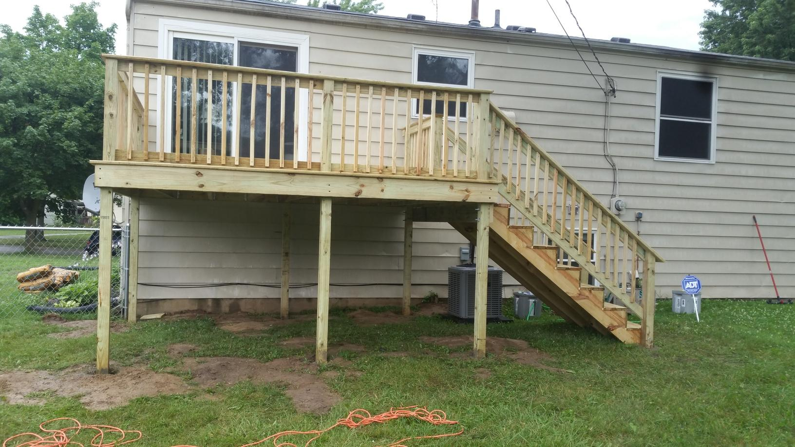 Deck Installation in Toledo, OH - After Photo