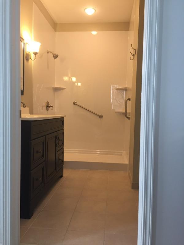 Shower Replacement in Ypsilanti, MI - After Photo