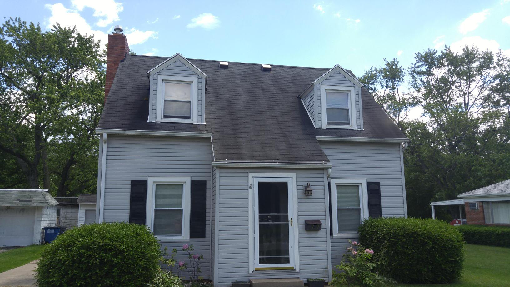 Roof Replacement in Toledo, OH - Before Photo