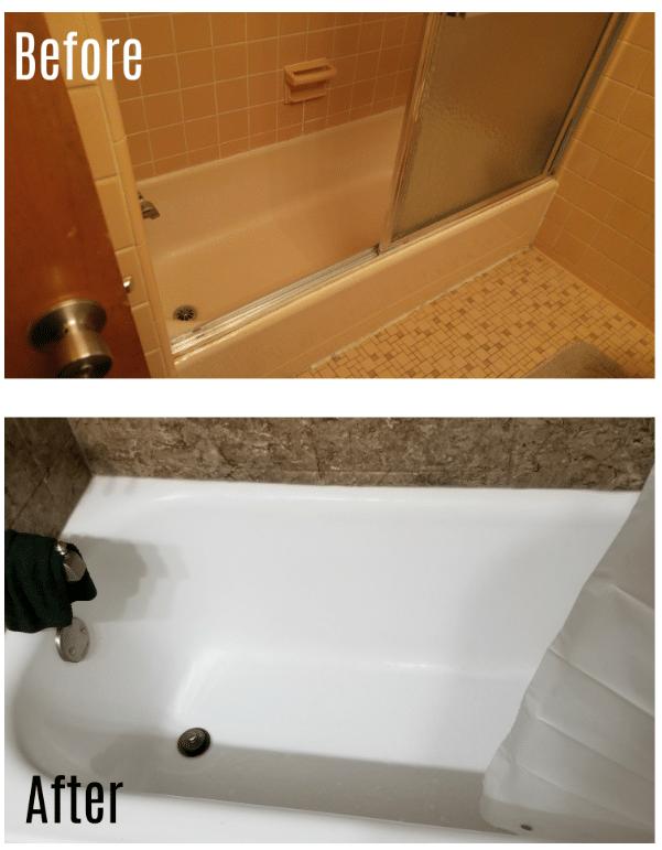 Beautiful Bathroom Upgrade in Trenton, MI - Before Photo