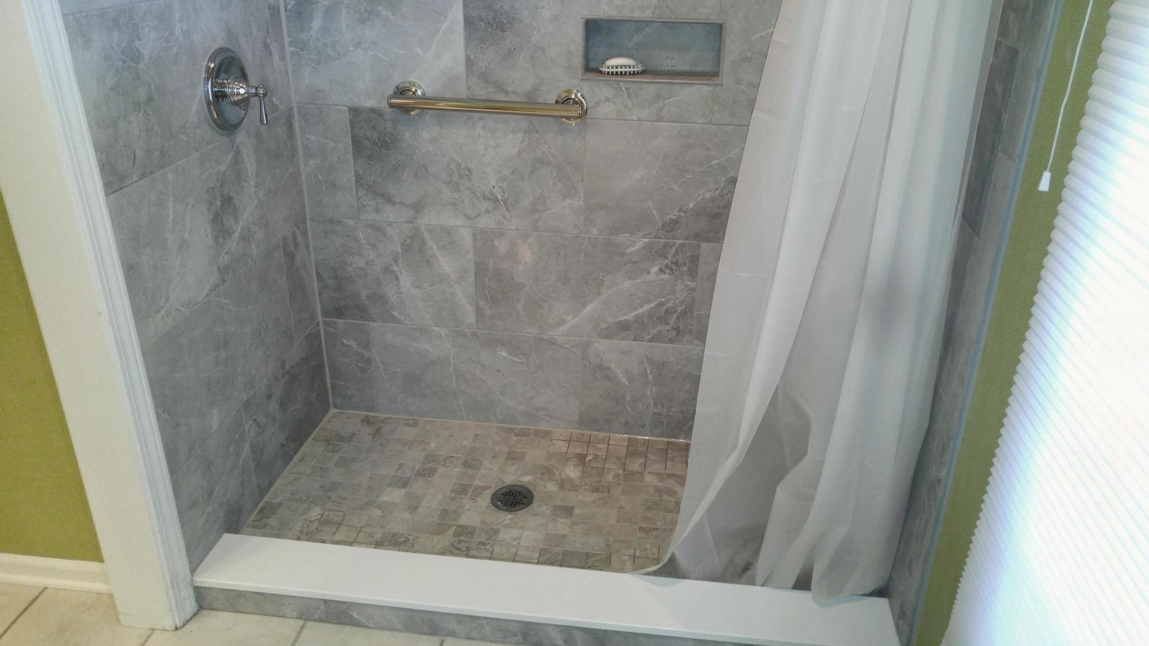 New tub to shower conversion in Maumee - After Photo