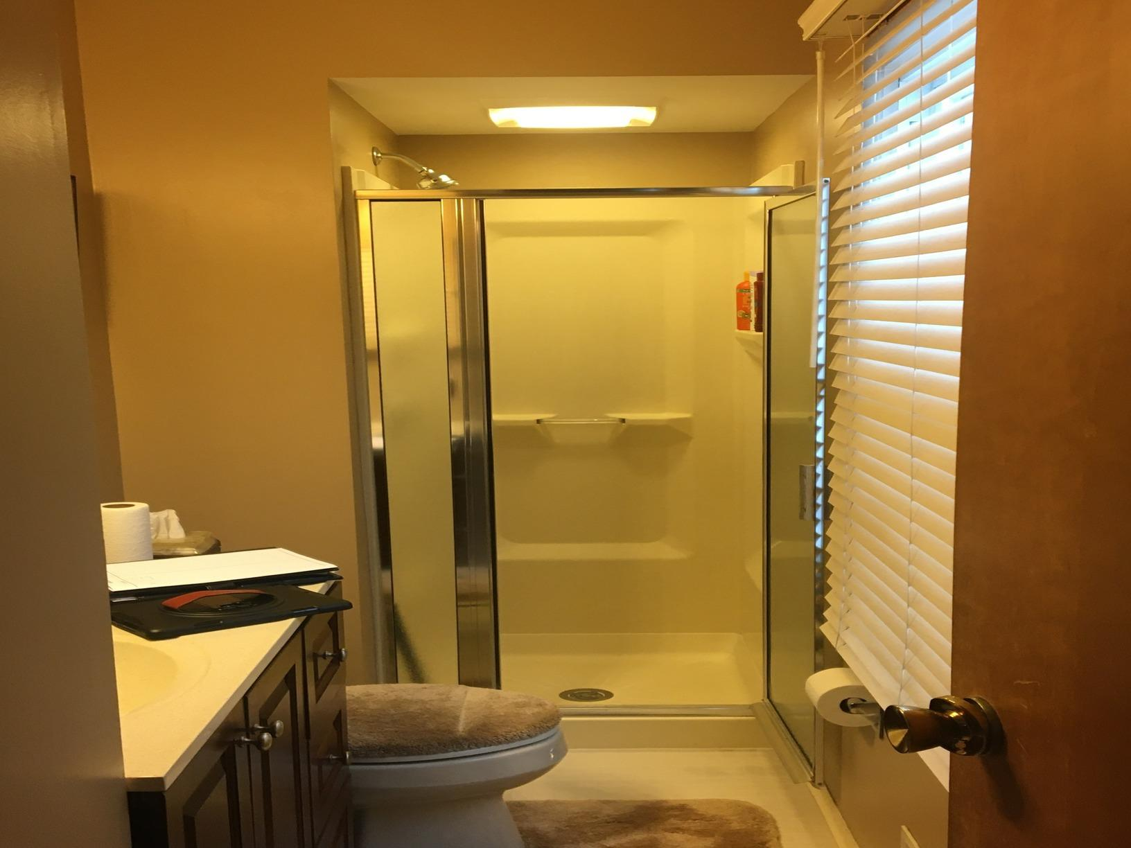 Bathroom Remodel- Toledo OH Walk-in Shower Update - Before Photo