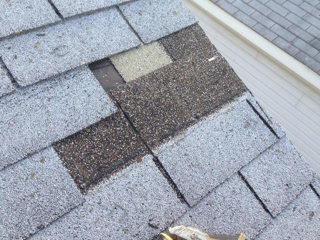 Roof Repair in Oregon, OH - Before Photo