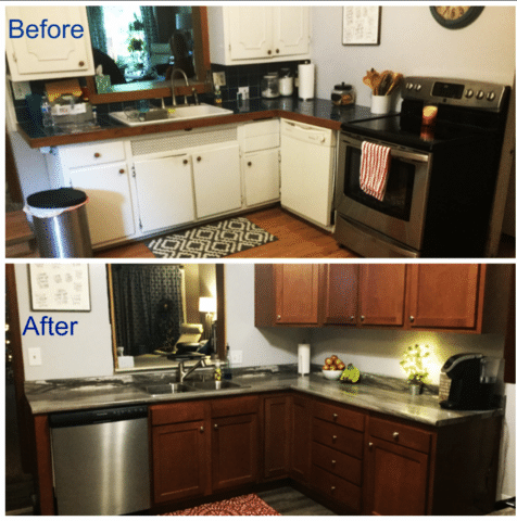 Creative Kitchen remodel in Bowling Green, Ohio