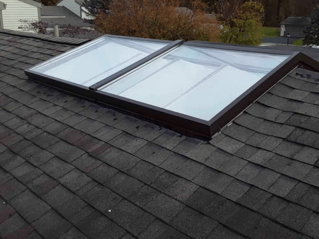 Over the Ridge Skylight Install in Maumee, OH - After Photo