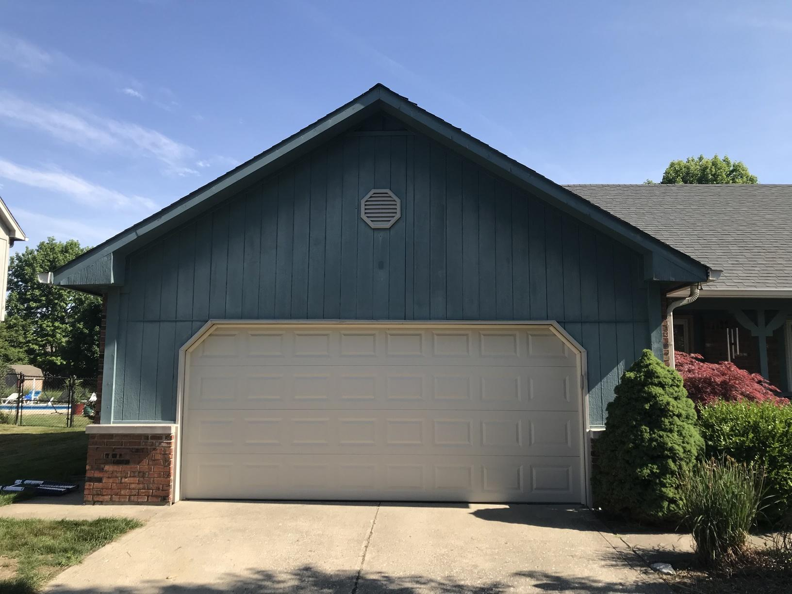 James Hardie Siding Replacement in Indianapolis, IN - Before Photo