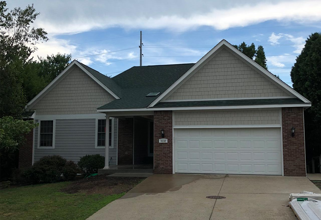 James Hardie Siding Replacement in Bloomington, IN - After Photo
