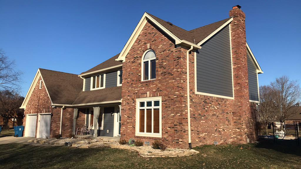 James Hardie Siding Installation in Indianapolis, IN - After Photo
