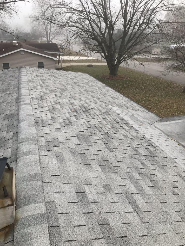 Roof Replacement in Lafayette, IN - Before Photo