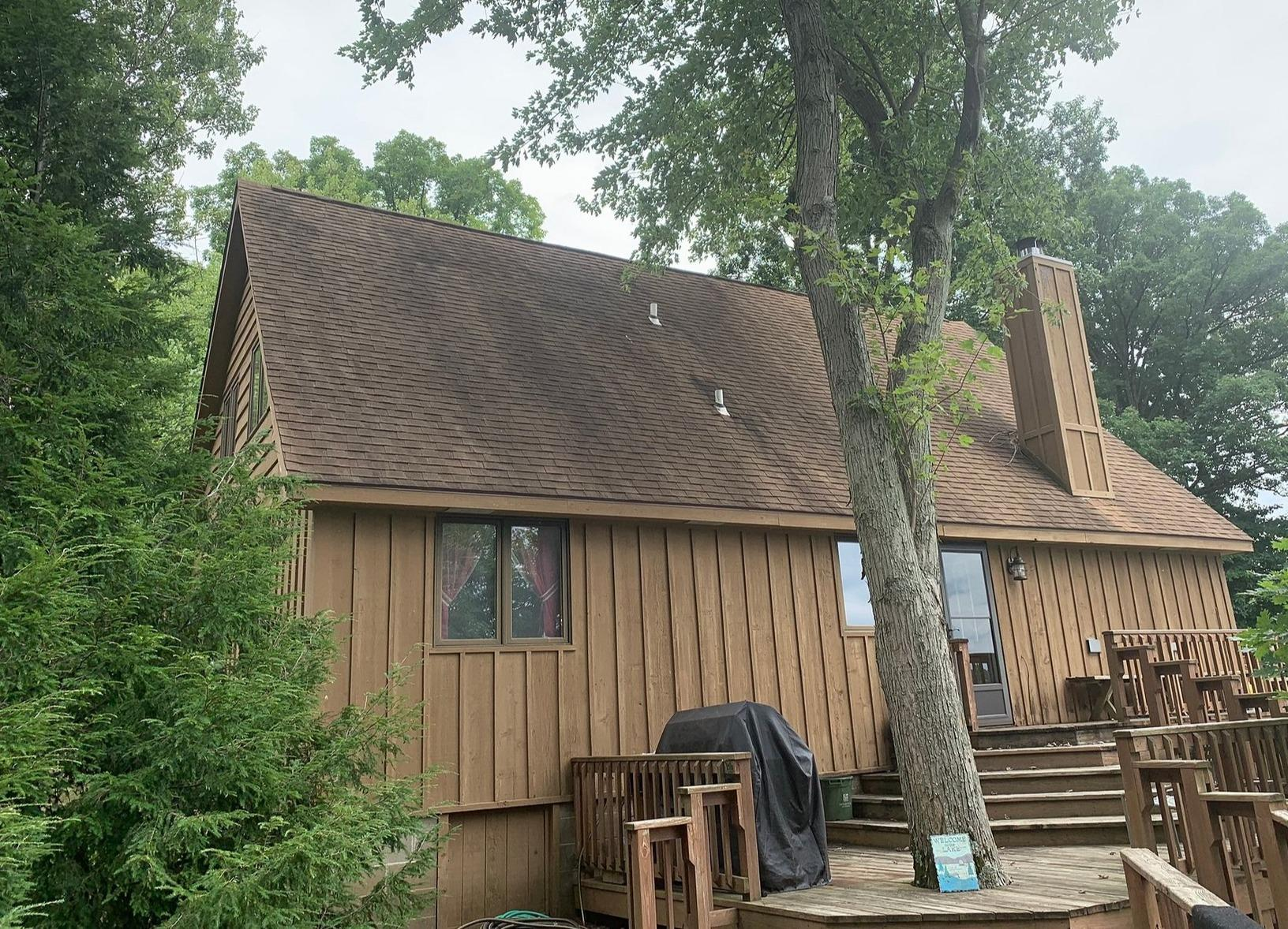 Hardie Siding Replacement - Before Photo