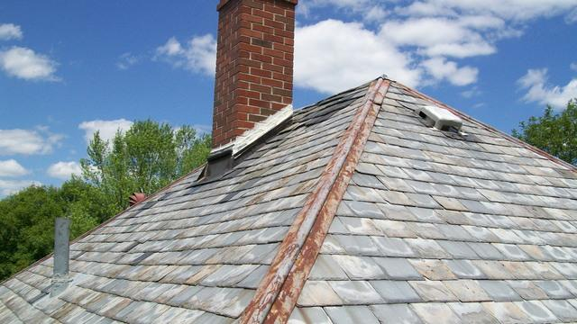 Slate Roof & Chimney Replacement