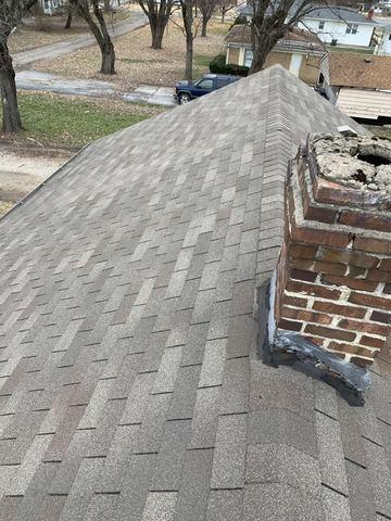 Roof Replacement in Indianapolis, IN - Before Photo