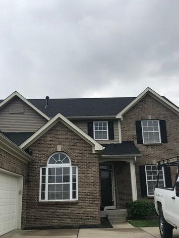 Wind Damaged Roof Replacement in McCordsville, IN for Local Police Officer