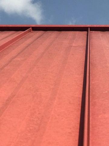 Hail Damage to Restored Fire House in Madison, IN