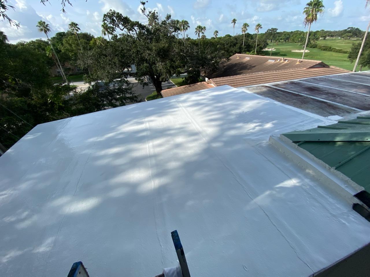 Roof Coating- Belleair - After Photo