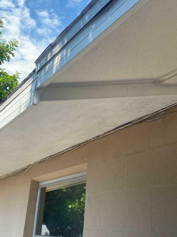 Facia Repair in Seminole - After Photo