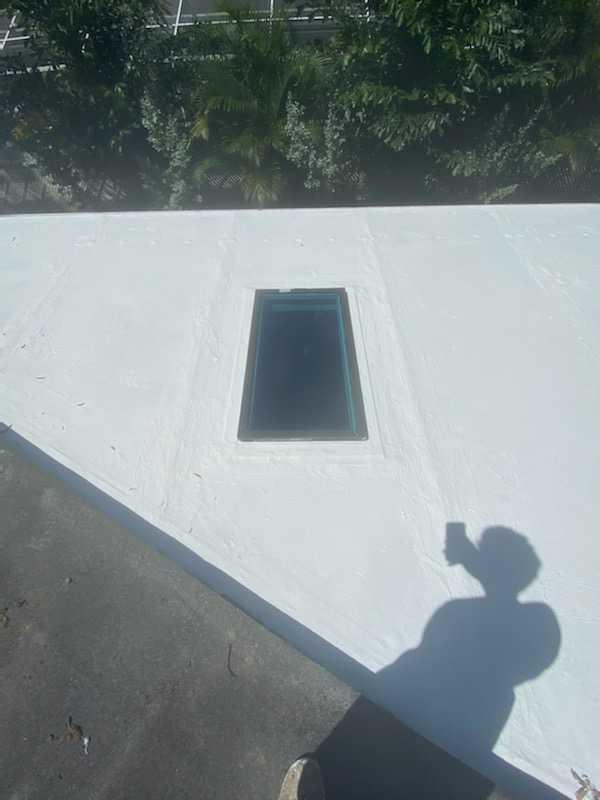 Skylight Repair - After Photo