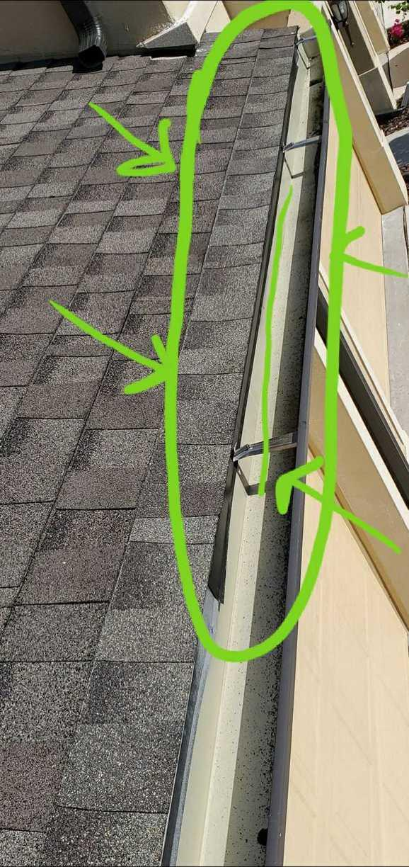 Edge Wood Rot and Flashing Repair - After Photo