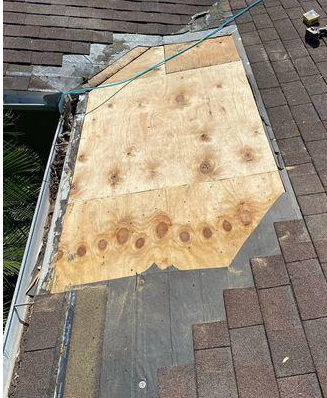 Eden Ct. Wood Rot Repair - Clearwater - After Photo