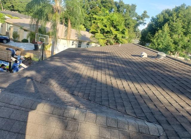 Shingle Roof Replacement in Clearwater - Before Photo
