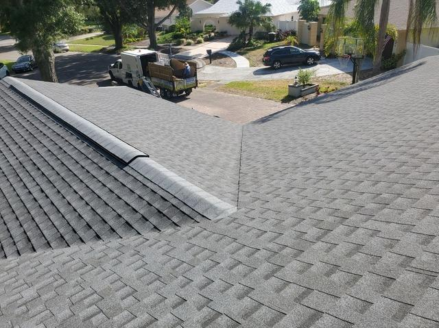 Shingle Roof Replacement in Clearwater - After Photo