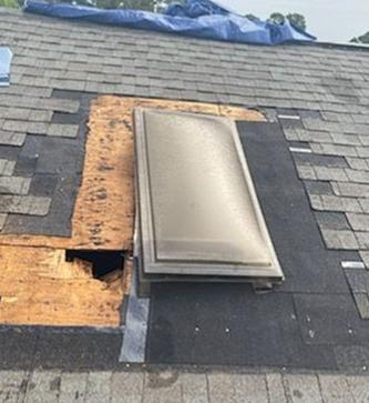 Skylight Replacement & Shingle Repair