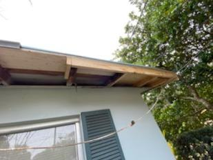 Roof Decking Repair - After Photo