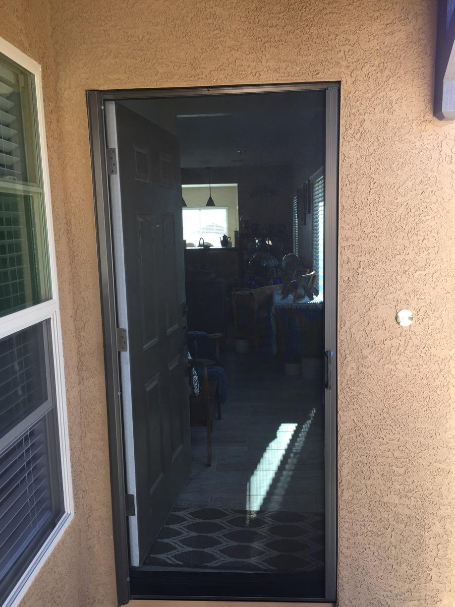 Single Standard Professional Phantom Screen Installed in Mesquite, NV - After Photo