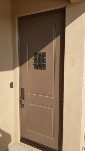 Single Legacy Door Screen Install in Mesquite, NV