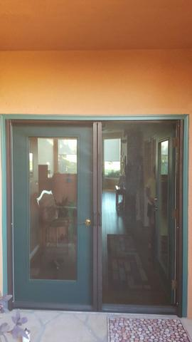 Double Screen Doors Installed in Mesquite, NV - After Photo