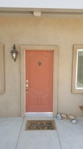 Legacy Retractable Door Screen Installed in Clovis