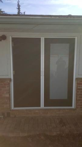 Phantom Professional Double Door Installed in Fresno