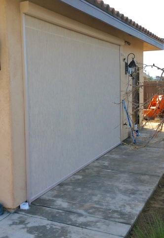 Before and After Phantom Motorized Executive Screens Installed in Hanford
