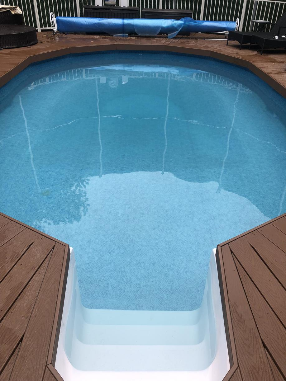 Pool Cleaning in Lakewood, NJ - After Photo