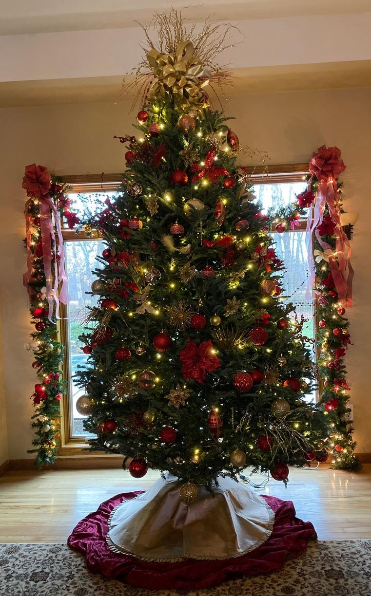 Professional Interior Christmas Decorating in Farmingdale, NJ - After Photo