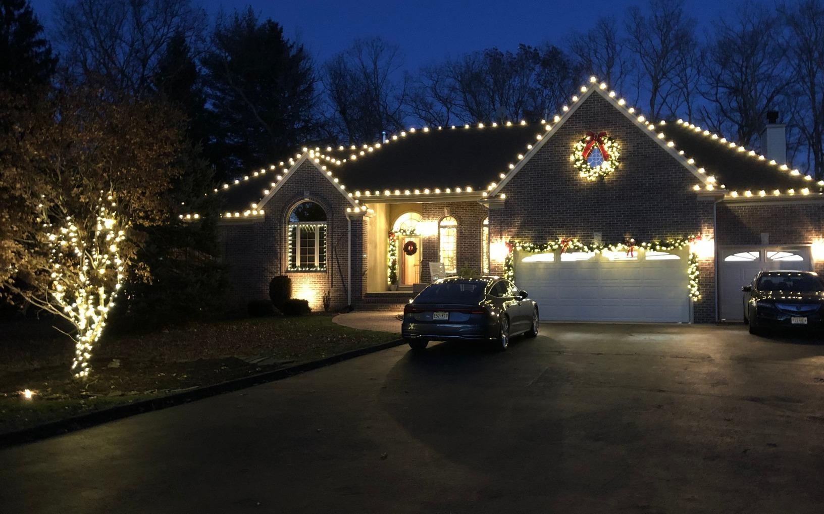 Professional Christmas Decorating in Farmingdale, NJ - After Photo
